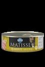 10+2 AJÁNDÉKBA! Matisse Rabbit Mousse 12x85g