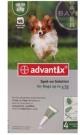 Bayer Advantix spot on 4kg alatti kutyáknak