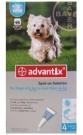 Bayer Advantix spot on 4-10kg közötti kutyáknak