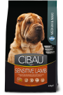 Cibau Sensible Lamb Médium & Maxi 20 kg