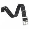 Ferplast Club CF 25/45 fekete nyakörv fém csattal