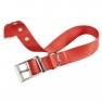 Ferplast Club CF 25/45 piros nyakörv fém csattal