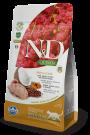 N&D Cat Quinoa Skin & Coat Quail 1,5kg