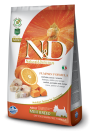 N&D Dog Pumpkin Tőkehal & Narancs Adult Mini 7kg