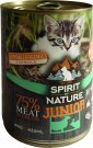 Spirit of Nature Cat konzerv Junior Bárány és nyúlhússal 415g