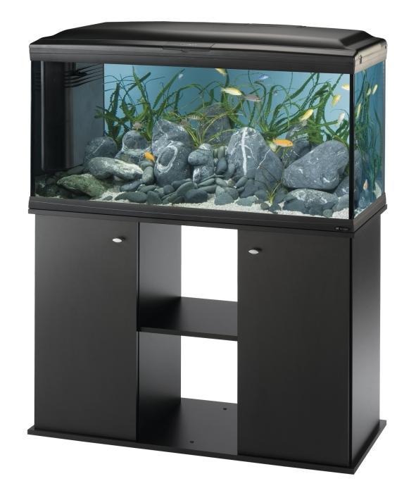 Ferplast Cayman 110 Professional Black felszerelt akvárium, 230l