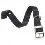Ferplast Club CF 15/35 fekete nyakörv fém csattal