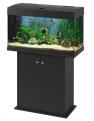 AKCIÓ! Ferplast Dubai 80 felszerelt akvárium 125l, fekete