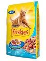 Friskies macskatáp lazac + zöldség, 10kg