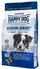 Happy Dog Medium Junior 25, 10kg