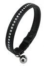 Lux Cat C12/28 fekete macska nyakörv