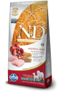N&D Dog Low Grain Csirke & Gránátalma Senior Medium & Maxi 12kg