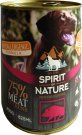 Spirit of Nature Dog konzerv Vaddisznóhússal 800g