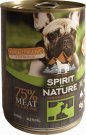 Spirit of Nature Dog konzerv Bárány + Nyúl 24x415g