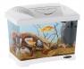 Ferplast Capri Junior gyerekbiztos akvárium, 21l, fehér