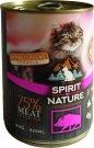 Spirit of Nature Cat konzerv Vaddisznóhússal 415g